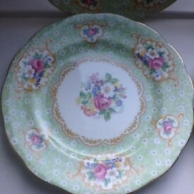 Cake, dessert, side plates. 8 available