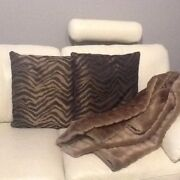 Cushions and Throw Rug from Freedom Como South Perth Area Preview