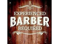 EXPERIENCED FULL/PART TIME BARBERS URGENTLY REQUIRED FOR WORK IN A BUSY SALON, LE3 AREA LEICESTER