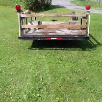 UTILITY TRAILER FOR SALE !  $200.00 firm takes it!!!!!!