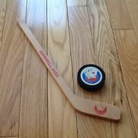 Cornwall Aces Mini Wooden Stick With Foam Puck