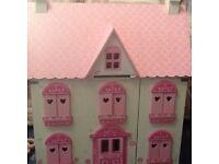 ELC dolls house, fully furnished