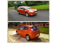 FUNKY SPORT FIAT PUNTO GRANDE ACTIVE 1368cc 5 SPEED , Guaranteed Low Mileage. Why Corsa Yaris Civic.