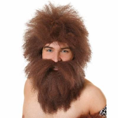Homme des Cavernes Perruque & Barbe Mr Twist - Kostüm Homme Des Cavernes