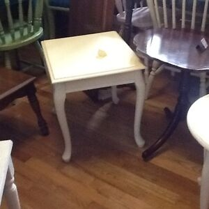 Assorted side tables $35 each