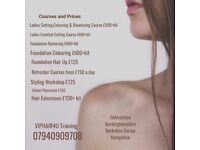 Training as a Hairdresser £999 Training that comes to you