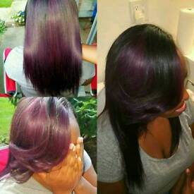 Relaxing,conditioning &hot oil treatments,haircuts,colouring,Brazillian Keratin treatment from £30