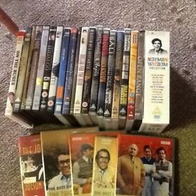Assorted DVD's films and classic tv programmes