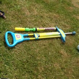 Poko stock & rocket launcher