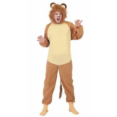 Adult Lion Wild Animal Zoo Jungle Book Week Fancy Dress Mens Womans Costume