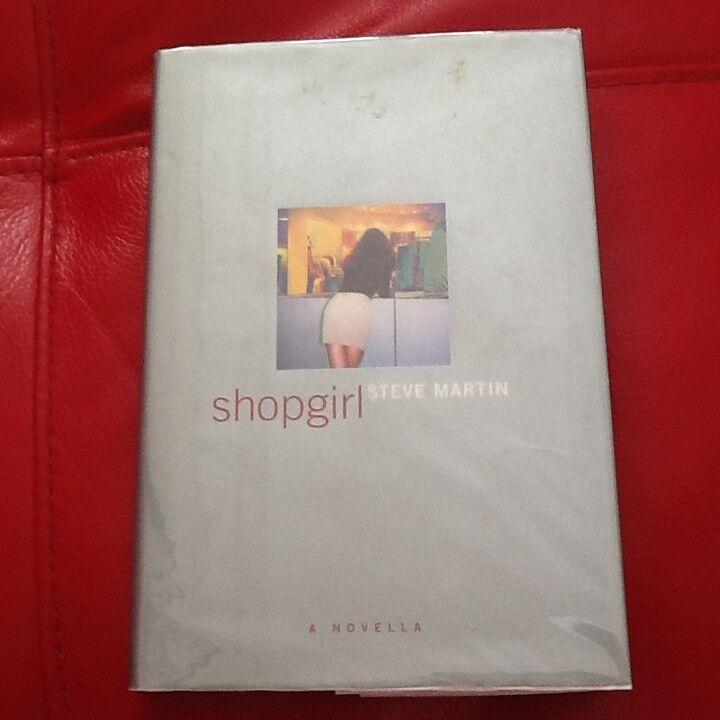 Steve Martin SIGNED Shopgirl 2000 Book Novella SNL Standup Comic HC/DJ - $59.00