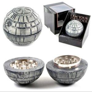 Star Wars Death Star Grinder Zinc alloy Herb Spice Crusher!!!!!!