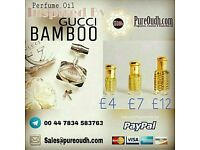 GUCCI BAMBOO PERFUME OIL (NO ALCOHOL)