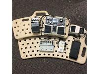 Comeplete pedal board