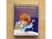 Horrid Henry Tricks the tooth fairy - audio book on cassette.