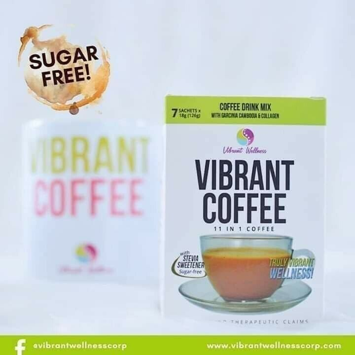 2 Boxes of Vibrant Coffee 11-in-1