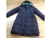 Ladies padded coat. Size 14