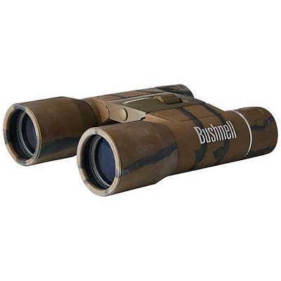 VISTA 132517C BUSHNELL POWERVIEW 10X25 COMPACT FOLDING ROOF PRISM BINOCULAR CAMO
