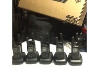 5x pairs of MAXON TWO WAY RADIOS