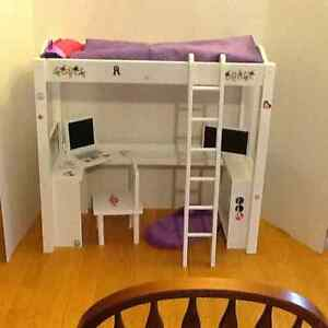 Journey girl bed and desk  St. John's Newfoundland image 1