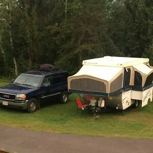 2008 Starcraft trailer. Cadillac of tent trailers