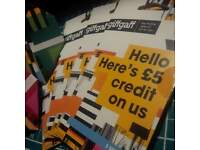 FREE!! giffgaff SIM Card with £5's worth of Credit