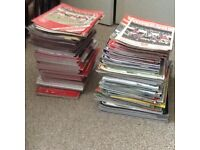 BULK LOT OF 170+ FOOTBALL PROGRAMMES