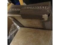 13 boxes of Porcelanosa L'Antic Porcelain tiles
