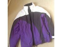 Ski jacket, size small