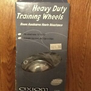 Heavy duty training wheels - new