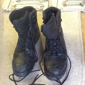 Size 11 safety boots steel tow caps