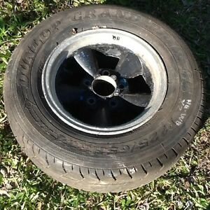 """Holden HQ, HJ, HX, HZ, WB 14"""" x7"""" 5 Spoke Old School Mag & Others Loganholme Logan Area Preview"""