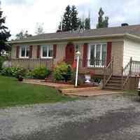Maison unifamiliale à Wakeham (Gaspé)
