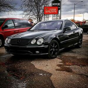 Mercedes-Benz CL600 V12 Coupe VERY RARE CAR!