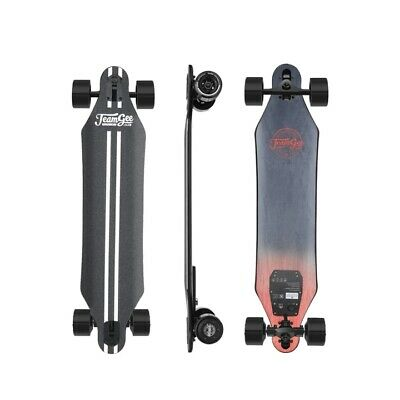 "NEW Teamgee H5 37"" Electric Skateboard 22 MPH Top Speed 760W Dual Motor 11 Miles"