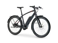 trek super commuter+ 9 2018 electric hybrid bike with bosch nyon
