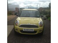 Mini first in yellow to lady owners from new full service history