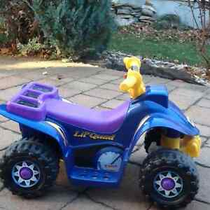 FISHER-PRICE POWER WHEELS LIL'QUAD