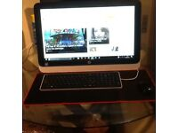 Hp all in one desktop only 2 mounths old
