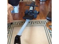 Rowing machine two months old was £160 new