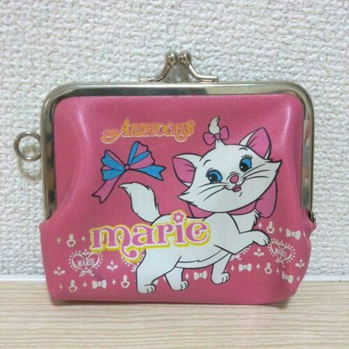 Disney The Aristocats Marie Trifold Wallet Coin Case