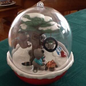Hallmart Collectible Series , Forest Frolics electric motorized.