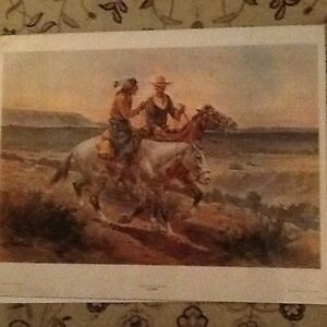 Great Western Print - 'Questionnable Companions'