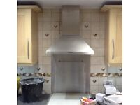 TECNIK Cooker Hood Built-in as Shown in Photos-Good Working Condition