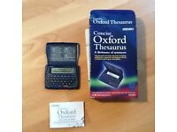 Concise Oxford thesaurus by seiko.spellckecker.crossword solver