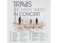 Travis tickets, Plymouth pavilions 17th June