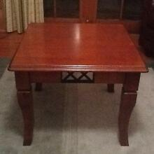 Square coffee / side table. Ex condition. Solid. Macclesfield Mount Barker Area Preview