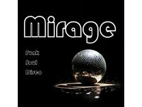 Mirage Southampton's top party/functions band