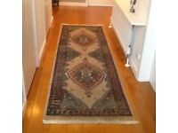 Door curtain and carpet runner to compliment each other