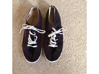 Fred Perry casual shoes navy size 8